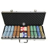 Monte Carlo Gold Edition 500S Poker Chip Set With Premium Pokerstars Pvc Decks For Sale Online