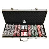 The Cheapest Monte Carlo Millions 500S Poker Chip Set Paper Playing Card White Dealer Button Online