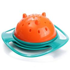 Moonar Non Spill Feeding Toddler Gyro Bowl 360 Rotating For Baby Kids Avoid Food Spilling By Moonarstore.