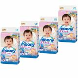 Purchase Moony Airfit Tape Diapers Size L 54Pcs Pack X 4 Packs Online