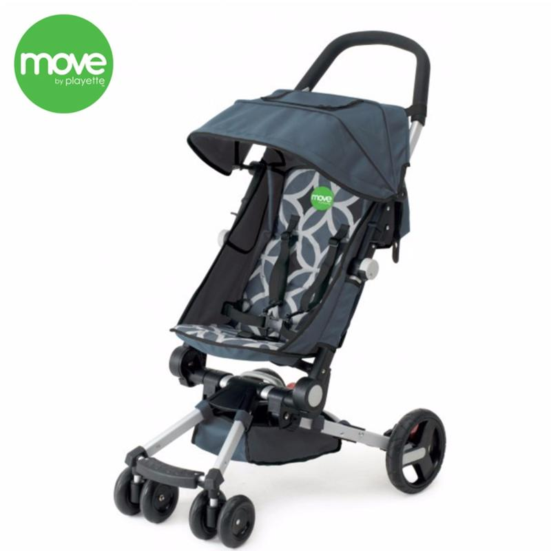 MOVE Easy Fold Stroller (Black) Singapore