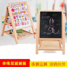 Compare Price Toddlers Double Sided Easel Drawing Board Oem On China