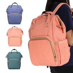 Great Deal Multi Functional Large Capacity Travel Backpack Tangerine Pink Intl