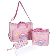 How To Buy Multi Functional Mummy Ote Bags Large Capacity Storage Handbag Pink Intl