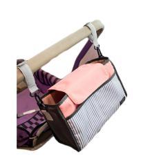 The Cheapest Multi Functional Stroller Organizers Nylon Baby Nappy Diaper Bag Pram Pushchair Storage Hanging Bag Intl Online