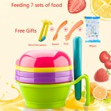 Price Multi Functional7 In 1 Baby Food Grinder Set Manual Grinder Filter Lapping Plate Bowl Pestle Vegetables Fruits Grinding Tools Intl Oem China