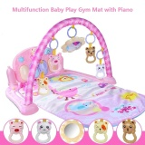 Buy Cheap Multifunction Baby Play Gym Mat With Piano Music Activity Gym Soft Mat Eye Brain Development Intl
