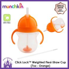 Buy Munchkin Click Lock™ Weighted Flexi Straw Cup 7Oz Munchkin Online