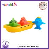 Lowest Price Munchkin Sch**l Of Fish Bath Toy
