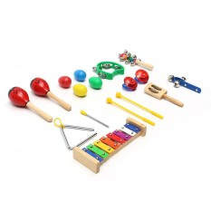 Musical Instruments Educational Set For Kids Percussion Toy Christmas Gift Dy - Intl By Audew.