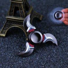 Naruto Overwatch Genji Hand Spinner Darts Spinner Finger Spinner Fidget Spinner Decompression Toy Metal For Anti Stress Intl Shop