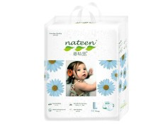 Retail Price Nateen Premium Baby Diapers Velcro Tapes L Sizes 1Ctn 128Pcs
