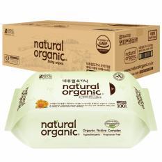 Natural Organic Original Baby Wipes (100 sheets x 10 packs)