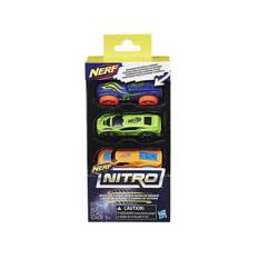 Wholesale Nerf Nitro Foam Car 3Pk Assorted