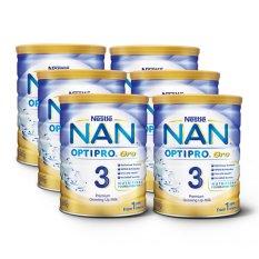 Nestlé® NAN® OPTIPRO® Gro 3 Growing Up Milk 800g x 6 pcs