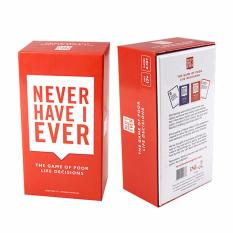 Price Comparisons Of Never Have I Ever Card Game The Game Of Poor Life Decisions