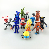 Price Compare New 12Pcs Set 2 4 5 Five Nights At Freddy S Figure Fnaf Chica Bonnie Foxy Freddy Fazbear Bear Doll Pvc Action Figures Toy