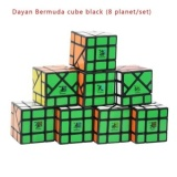 New Best Brand Dayan Bermuda Cube Black Magic Cube Speed Magic Cube Puzzle Cubes Kids Educational Toys Intl Sale