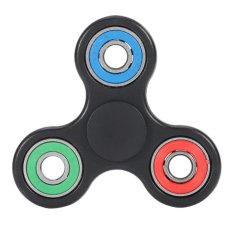 New Fashion Hands Finger Spinner Bearing Stress Relief Focus Toy For Kids/adult (black) - Intl By Highfly.