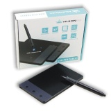 New Huion Portable Smart Stylus Digital Tablet H420 Signature Pad Black Intl Reviews