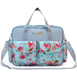 Price Comparison For New Mom S Pattern Shoulder Tote Changing Bag Large Capacity Handbag With Nappy Mat