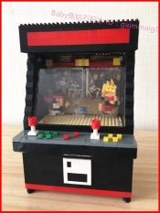 Buy New Style Arcade Game Style Building Blocks Cheap On China
