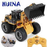 New Upgrade Huina 520 1 14 2 4Ghz 6Ch Rc Alloy Truck Construction Vehicle Remote Control Toy An Excavator Car Kid Gift Intl Review