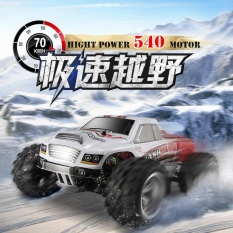 Top Rated New Upgrade Wltoys A979 B 1 18 Scale 2 4G 4Wd High Speed 70Km H Rc Vehicle Simulated Car Remote Contro Bigfoot Off Road Rock Climbing Buggy Intl