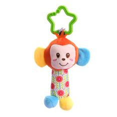 Newborn Baby Infant Cute Animal Handbells Developmental Bed Bells Toys By Welcomehome.