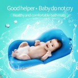 Newborn Baby Toddler Infant Seat Pad Tub Bath Floating Air Cushion Pillow Blue Intl Online