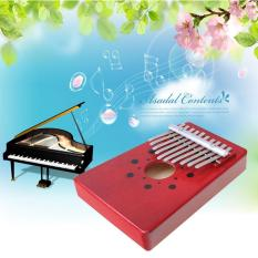 Niceeshop 10 Key Finger Piano Kalimba Mbira Likembe Sanza Thumb Piano (red) By Nicee Shop