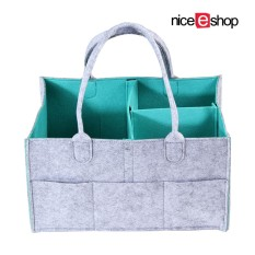 Niceeshop Baby Diaper Caddy Organizer Portable Diaper Caddy Nursery Storage Bin Baby Wipes Bag Changeable Compartments Best For Baby Shower Gift Newborn Registry Gift Intl Niceeshop Cheap On China