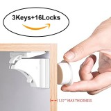 Buy Cheap Niceeshop Baby Safety Magnetic Cabinet Lock Set Child Safety Locks Kids Toddler Proofing Hidden Cupboard Drawer Locking System No Drilling Screws 16 Locks 3 Keys Intl
