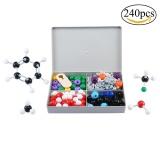 Promo Niceeshop Chemistry Model Kit Organic Inorganic Molecular Kit With Bonds Links Atoms For Home Science Tools Advanced Chemistry Kit 240Ps Intl