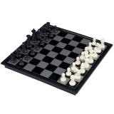 Sale Niceeshop Ub 9 75Inch Travel Magnetic Chess Checkers And Backgammon Set Black White China Cheap