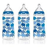 Nuk Elephants Baby Bottle With Perfect Fit N*ppl* 10 Ounces 3 Pack Blue Coupon