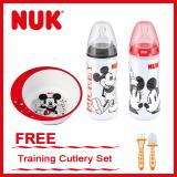 Best Buy Nuk Mickey Bottles Pc 300Ml Set