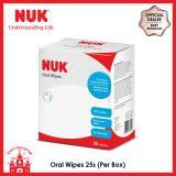 Sale Nuk Oral Wipes 25S Per Box Singapore