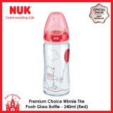 How To Get Nuk Premium Choice Winnie The Pooh Glass Bottle 240Ml Red