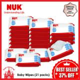 Cheaper Nuk Wipes 80S 21Packs