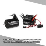 Ocday 3650 5200Kv Brushless Sensorless Motor With 60A Waterproof Esc For 1 10 Rc Car Truck Intl Coupon