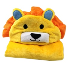 Where Can I Buy Ocean Hot 3D Animal Baby Infant Newborn Hooded Bath Towel Blankets(Yellow) Intl
