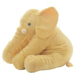 Oem Elephant Baby Pillow Plush Stuffed Newborn Doll Developing Sleep Pillow For Boys Girls Toy 12 Months Yellow Intl For Sale
