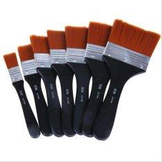 New Oil Art Paint Brush Wooden Handle Acrylics Art Painting Brushes Children Kids Student Drawing Brush Intl