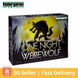 Best Rated One Night Ultimate Werewolf Card Board Game 3 10 Players