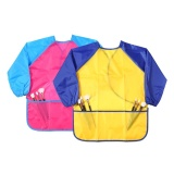 Ooplm Children S Art Smocks 2 Pack Kids Painting Aprons Waterproof Artist Smocks Long Sleeve Painting Apron With 3 Roomy Pockets For Age 2 8 Years Intl Louis Will Cheap On China