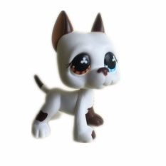 Who Sells The Cheapest Original 1Pc Lps Cute Toys Lovely Pet Shop Animal White Chihuahua Dog Brown And Blue Eyes Action Figure Littlest Doll Intl Online