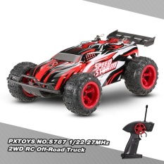 Original Pxtoys No.s787 1/22 27mhz 2wd 20km/h Electric Rtr Off-Road Truck Speed Racing Rc Car - Intl By Tomtop.