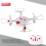 Review Original Syma X20 2 4G 4Ch 6 Aixs Gyro Pocket Drone Rc Quacopter Rtf With Headless Mode Altitude Hold 3D Flip Function Intl Syma
