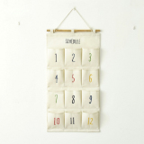 Get The Best Price For Mimosifolia Over The Door Storage Bathroom Wall Door Organizer System Baby Closets Storage Hanging Pockets 12 Pockets Numbers 1 12 White